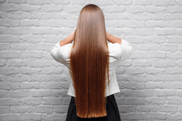 long hair cuts and styling